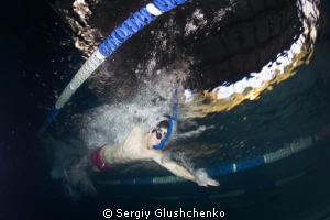 finswimming by Sergiy Glushchenko 